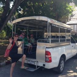 El transfer para ir gratis a la playa de Kata