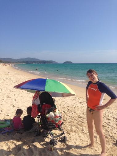 Karon beach Playa extensa y profunda