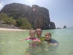 La playa de Phra Nang