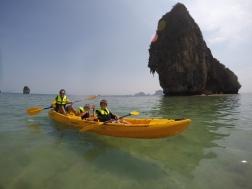 Kayaks del hotel