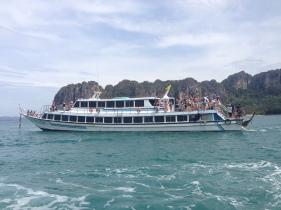 Ferry de Puket a Railay