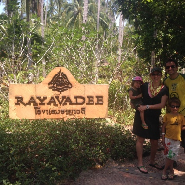 Llegamos al Rayavadee
