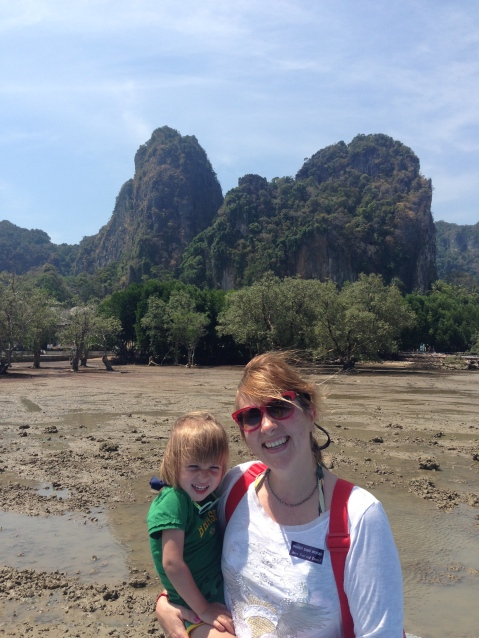 Railay East con marea baja