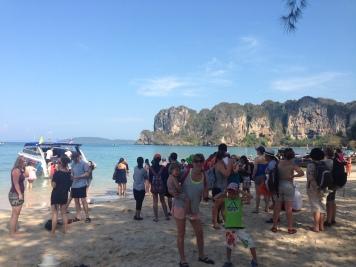 Salida de la excursión a Phi Phi Island desde Railay West