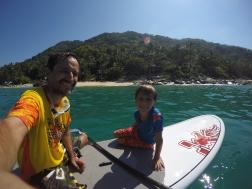 Paddle surf en Casitas Maraika