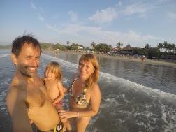 La playa de Sayulita