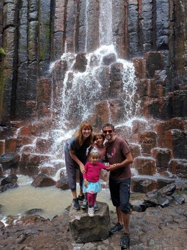 Prismas Basálticos en Huasca